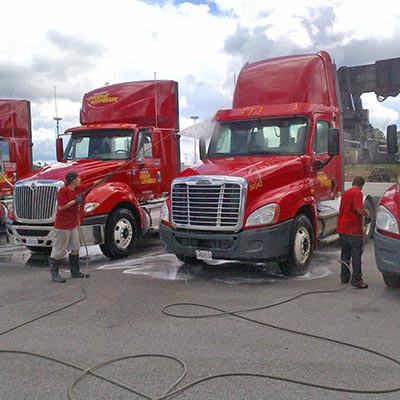 jet haute pression camion