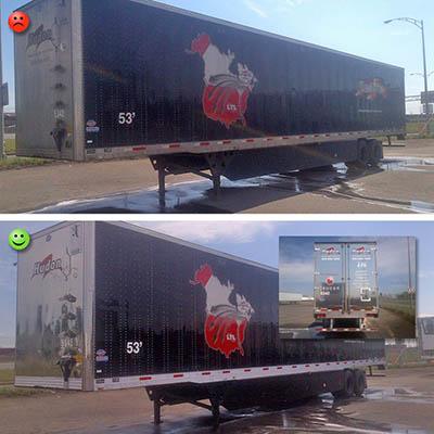nettoyage haute pression camion